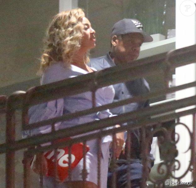 Jay Z et Beyoncé sont allés diner en amoureux au restaurant Sushi Park à West Hollywood, le 3 août 2017