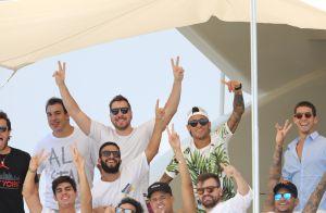 Neymar : Loin du PSG et des terrains, il s'éclate avec ses amis à Saint-Tropez