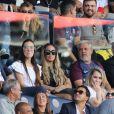 Rafaella Beckran, la soeur de Neymar Jr regardant depuis les tribunes le premier match de la saison 2017-2018 de Ligue 1 Paris Saint-Germain (PSG) contre Amiens (ASC) au parc des princes à Paris, le 5 août 2017.© Giancarlo Gorassini/Bestimage