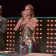 """""""Les Twins remportent l'émission de danse américaine World of Dance le 8 août 2017 sur NBC. Ici applaudi par le jury composé de Ne-Yo, Jennifer Lopez et Derek Hough."""""""