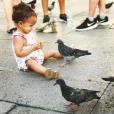 Chrissy Teigen, John Legend et leur fille Luna en vacances en Italie. Août 2017.