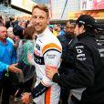 """"""" Jenson Button lors du Grand Prix de Silverstone le 13 juillet 2017. """""""