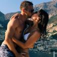 Jenson Button et sa compagne Brittny Ward en vacances sur la Côte amalfitaine en août 2017, photo Instagram.