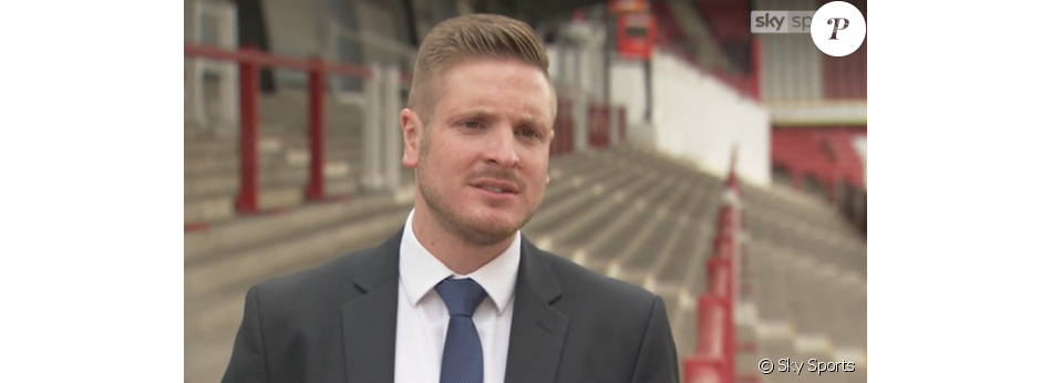 Ryan Atkin, premier arbitre pro ouvertement gay (capture d'écran de son interview pour Sky Sports)