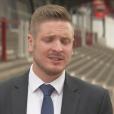 Ryan Atkin, premier arbitre pro ouvertement gay (capture d'écran de son interview pour Sky Sports)