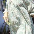 """Amy Adams enceinte, sort de la Fête """"InStyle Day Of Indulgence"""" dans une résidence privée de Brentwood à Los Angeles, Californie, Etats-Unis, le 13 august 2017."""