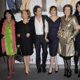 Le charme du casting - Blanca Li, Marina Foïs, Emmanuelle Seigner, Karine Viard et Marina Hands - entourent Christopher Thompson.
