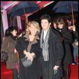 Générale de  Cléopâtre, la dernière reine d'Egypte , lundi 9 février 2009 : Bruno Madinier et sa femme Camille