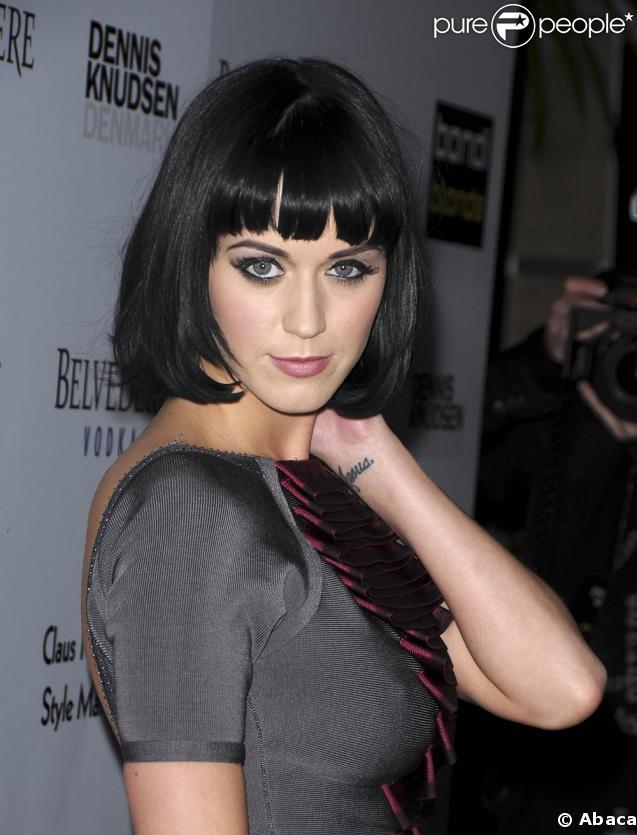 Katy Perry à la soirée Blondi Blonde Style Mansion. 09/02/09