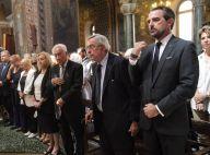 Constantin et Nikolaos de Grèce endeuillés aux obsèques de l'actrice Zoï Laskari