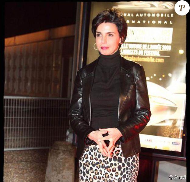 Rachida Dati à la 24ème édition du Festival Automobile International. 10/02/09