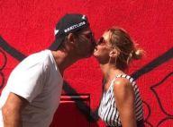 Ingrid Chauvin : Pause baiser avec son mari et câlin avec son fils Tom