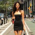 Aqua Parios - Casting pour le défilé Victoria's Secret 2017 à New York. Le 22 août 2017.