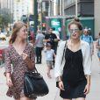 Willow Het et Sara Witt - Casting pour le défilé Victoria's Secret 2017 à New York. Le 17 août 2017.