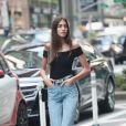 Lara Ghraoui - Casting pour le défilé Victoria's Secret 2017 à New York. Le 17 août 2017.