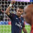 Neymar Jr. - Match de Ligue 1, Paris Saint-Germain (PSG) vs Toulouse FC (TFC) au Parc des Princes à Paris, France, le 20 août 2017. Le PSG a gagné 6-2. © Lionel Urman/Bestimage