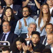 PSG - Saint Etienne : Thomas Hollande, sa chérie et son père réunis pour vibrer