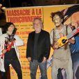 """Tobe Hooper, le réalisateur de """"Massacre à la tronçonneuse"""" célèbre les 40 ans de son film au Grand Rex à Paris le 23 septembre 2014."""
