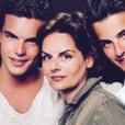 """""""Julien Castaldi, Valérie Sapienza et Simon Castaldi. Photo hommage publiée en juillet 2017."""""""