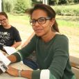 """Audrey Pulvar lors de la 22ème édition de la """"Forêt des livres"""" à Chanceaux-Près-Loches, le 27 aout 2017 en hommage à son fondateur G Saint Bris décédé le 8 août 2017.© JLPPA/Bestimage"""
