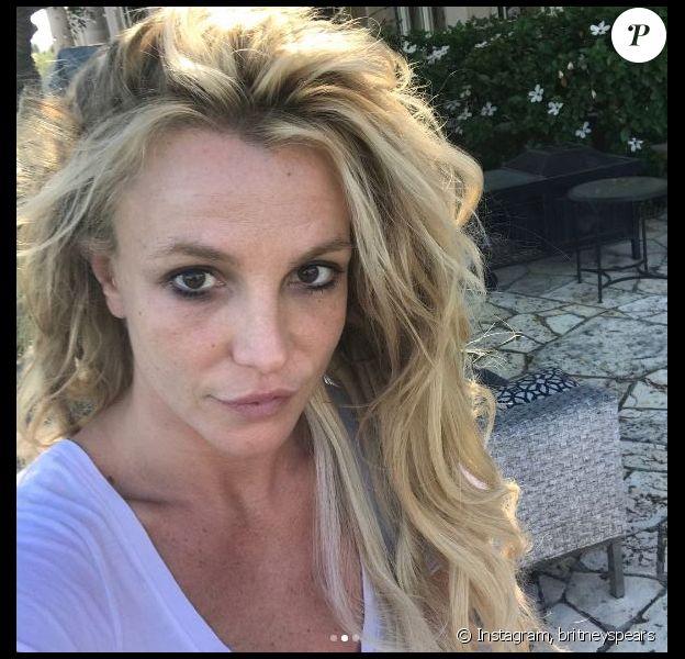 Britney Spears se dévoile au naturel sur Instagram. Août 2017.