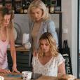 """Ingrid Chauvin sur le tournage de la série """"Demain nous appartient"""" pour TF1."""