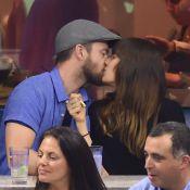 Justin Timberlake et Jessica Biel : Tendres baisers à l'US Open