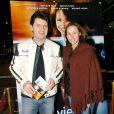Vanessa Demouy et Philippe Lellouche à Paris, le 2 mars 2004.