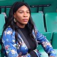 Serena Williams, enceinte, dans les tribunes des internationaux de tennis de Roland Garros à Paris le 2 juin 2017. © Cyril Moreau / Dominique Jacovides / Bestimage