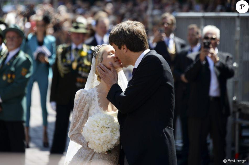 Cérémonie religieuse du Mariage du prince Ernst August Jr de Hanovre et de Ekaterina Malysheva en l'église Marktkirche de Hanovre le 8 juillet 2017.