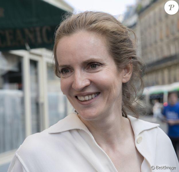 Nathalie Kosciusko-Morizet (NKM) candidate aux élections legislatives dans la 2ème circonscription de Paris le 6 juin 2017. © Romuald Meigneux/Bestimage