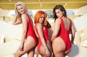 Ashley Graham sensuelle et torride à califourchon sur son mari dans une piscine
