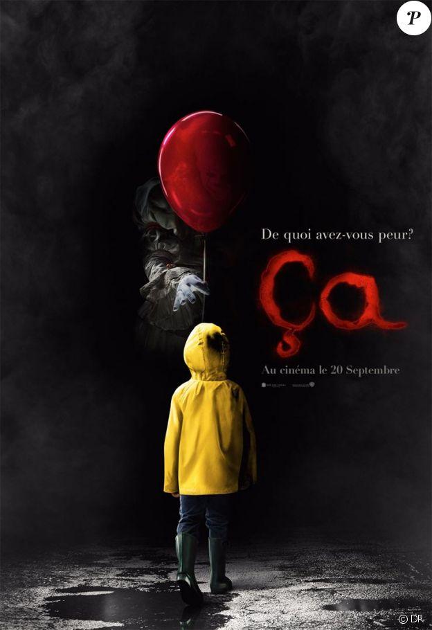 Affiche du film Ça, en salles le 20 septembre 2017