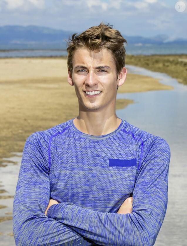 """Thomas, 21 ans, étudiant en école de commerce et candidat de """"Koh-Lanta Fidji"""" sur TF1."""