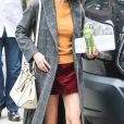 Selena Gomez sur le tournage du nouveau film de W. Allen à New York, le 14 septembre 2017  Selena Gomez works hard on the set of her upcoming project with veteran director W. Allen. Selena is seen showing off her second outfit for the day. 14th september 201714/09/2017 - New York