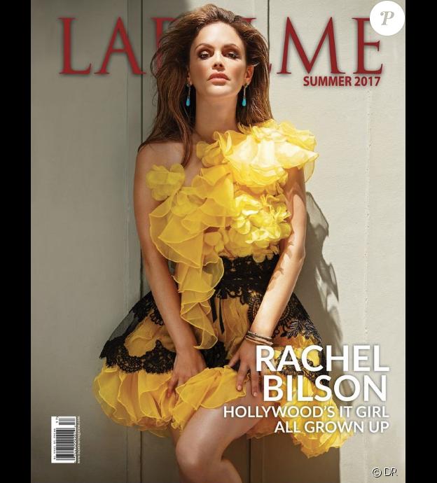 """Rachel Bilson en couverture du magazine """"La Palme"""", été 2017."""