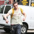 Exclusif - Brooklyn Beckham fait du skateboard dans les rues de New York, le 19 septembre 2017  Exclusive - Brooklyn Beckham shows off his skateboarding skills while out for a ride in New York City. 19th september 201719/09/2017 - New York