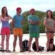 """Equipe rouge - Extrait de """"Koh-Lanta Fidji"""", épisode du 22 septembre 2017."""