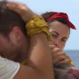 "Marvyn en larmes - ""Koh-Lanta Fidji"" sur TF1, le 22 septembre 2017."