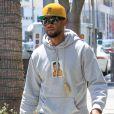 Usher dans les rues de Beverly Hills le 29 août 2017