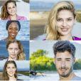 """L'équipe des jeunes de """"Koh-Lanta Fidji""""."""