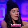 """Laura lors de la quotidienne de """"Secret Story 11"""" (NT1), lundi 25 septembre 2017."""