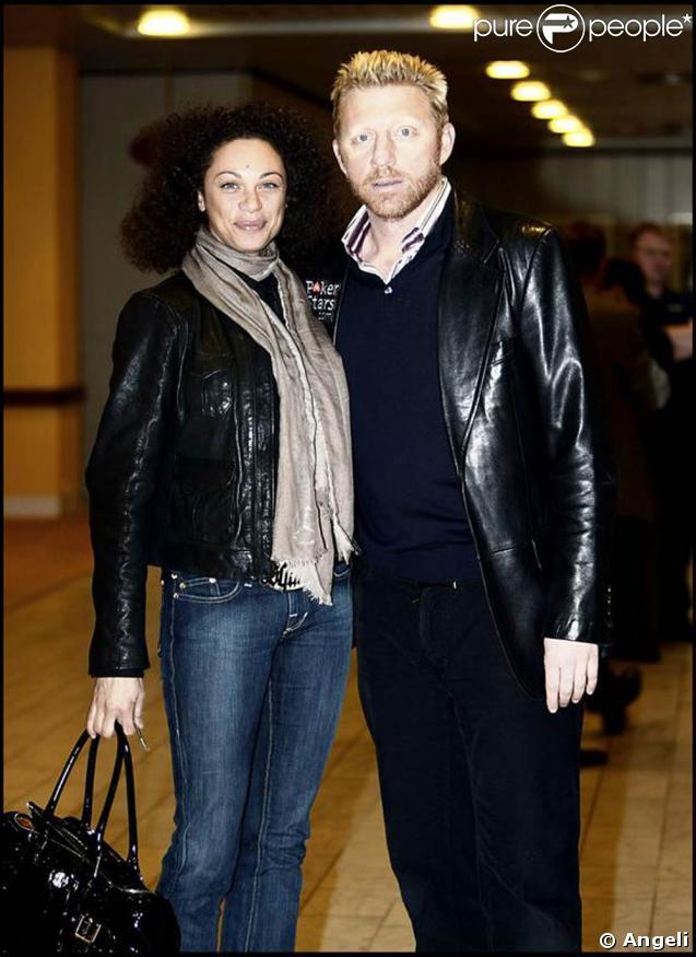 Boris Becker et sa fiancée Sharlely Kerssenberg, à Copenhague pour un tournoi de poker ! 17/02/09
