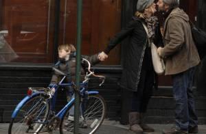 Kate Winslet: son fils n'aime pas les bisous en pleine rue...