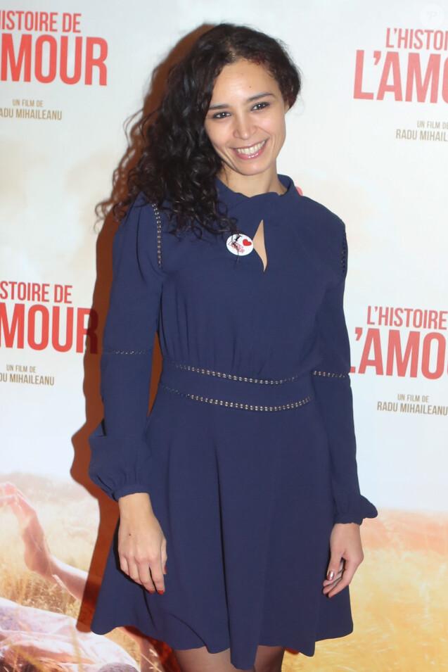 """Aïda Touihri - Avant-première du film """"L'histoire de l'amour"""" au Gaumont Capucines à Paris le 7 novembre 2016. © CVS/Bestimage"""