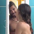 Barbara (Secret Story 11) se dénude face à Alain, le 27 septembre 2017 sur NT1.