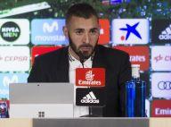 """Karim Benzema : Toujours boudé,  le """"papou"""" positive avec sa fille Mélia"""