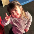 """""""Karim Benzema fête les 3 ans de sa fille Melia, sur Instagram, le 3 février 2017."""""""