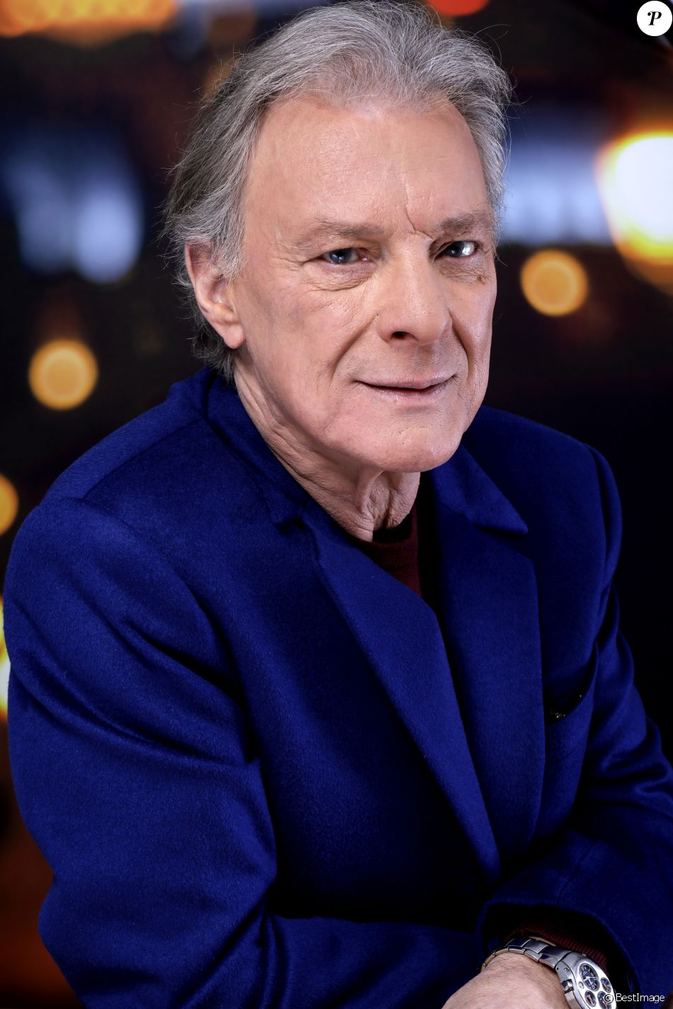 Portrait de Herbert Léonard - Paris - octobre 2016.