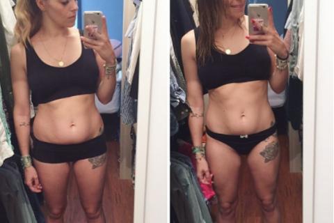 """Alexia Mori dévoile sa perte de poids post-grossesse : """"Ce n'est qu'un début !"""""""